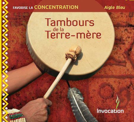 CD Tambours de la Terre-mère par Aigle Bleu