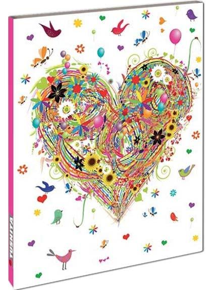 Blank Book - Heart Design