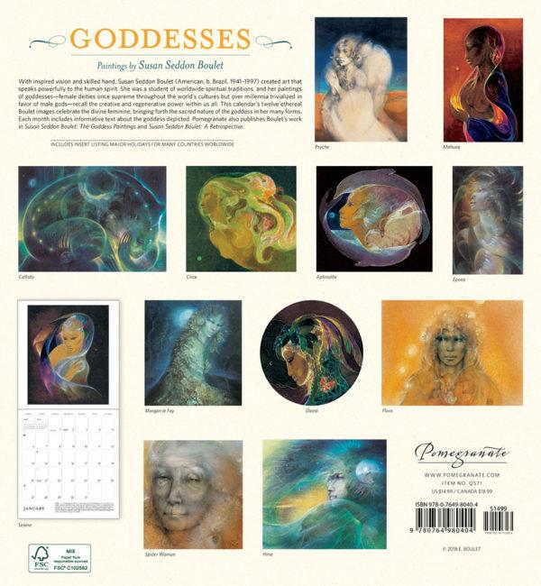 Calendrier Godesses
