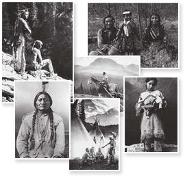 Set de 7 cartesPhotos d'époque