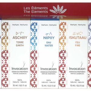 Set des 5 Éléments (5 flacons de 15ml) avec manuel